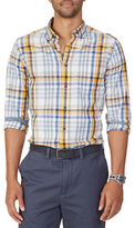 Nautica Classic Fit Whitecap Plaid Shirt