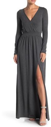 Go Couture Slit Maxi Dress