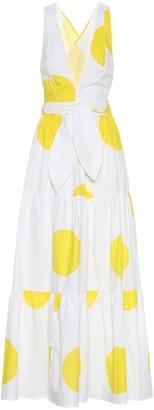 Alexandra Miro Exclusive to Mytheresa Raphaela polka-dot cotton maxi dress
