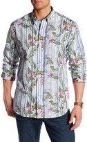 Tommy Bahama Jungle Mist Regular Fit Long Sleeve Shirt