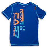 Reebok Boys 8-20 Logo Athletic Tee