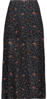 Zimmermann Havoc Picnic Printed Crepe Midi Skirt