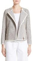 Lafayette 148 New York Women's Christa Isla Weave Jacket