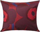 Marimekko Unikko Pillowcase - Red/Plum