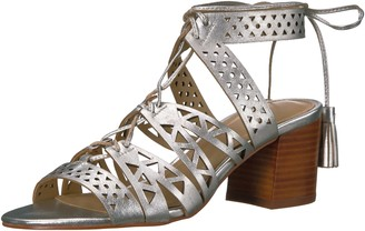 The Fix Amazon Brand Women's Bonilla Block Heel Cutout Tribal Dress Sandal
