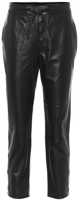 RtA Matisse cropped leather pants