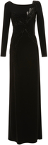 Emilio Pucci Long Sleeve Embroidered Dress