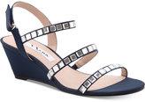 Nina Naleigh Embellished Evening Wedge Sandals