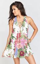 MUMU Rancho Mirage Lace Up Tunic Dress ~ Duchess Darling