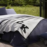 Thumbnail for your product : Calvin Klein Gene Duvet Cover - Light Wash/Indigo - Super King