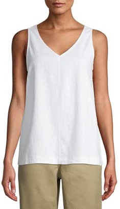 Time and Tru Time and True Women's Everyday Woven Tank Top