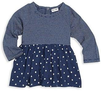 Splendid Baby Girl's Mixed-Print Cotton Top