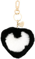 Twin-Set heart bag charm
