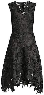 Josie Natori Women's Multi Lace Sleeveless Dress