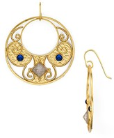 Stephanie Kantis Antiquity Round Drop Earrings