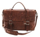 Frye Logan Flap Briefcase
