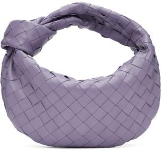 Bottega Veneta Purple Mini Intrecciato Jodie Bag