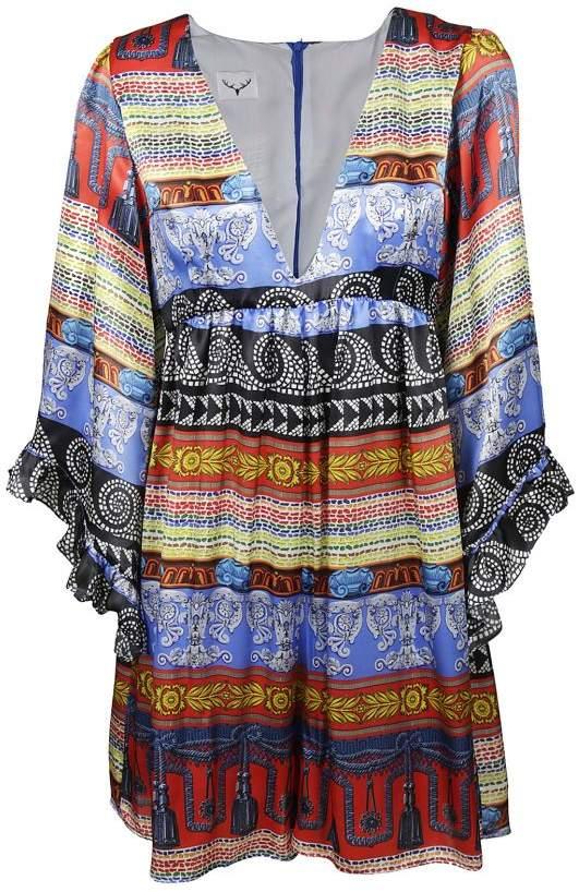 Leitmotiv V-neck Midi Dress