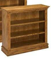 A&E Wood Designs Britania Standard Bookcase A&E Wood Designs Color: Light