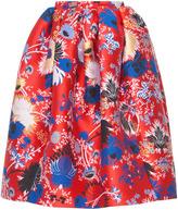 Rochas Gathering Skirt In Lurex Jaquard