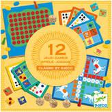 Djeco Classic Game Set - Set of 12