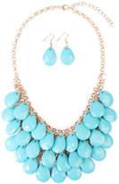 Riah Fashion Multi Beaded Necklace Set