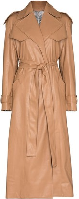ANOUKI Reversible Two-Tone Trench Coat