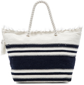 Seafolly Carried Away Riviera Tote in White.