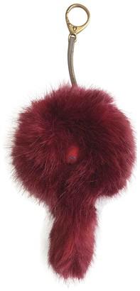 Shrimps Red Faux fur Bag charms