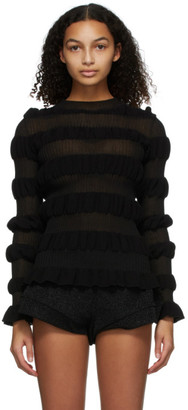 Molly Goddard Black Gigi Sweater