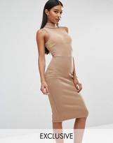 Club L Bandage Mesh Dress