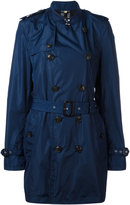 Burberry double breasted trench coat - men - Polyamide/Cotton - 48