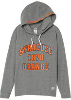 PINK Syracuse University Crossover Pullover Hoodie