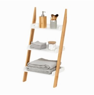 Honey-Can-Do 3-Tier Leaning Bathroom Ladder Shelf
