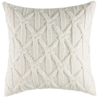 Nautica Clearview Lattice Knit Accent Pillow