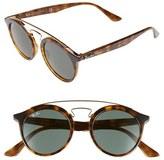 Ray-Ban Women's 'Highstreet' 46Mm Sunglasses - Black