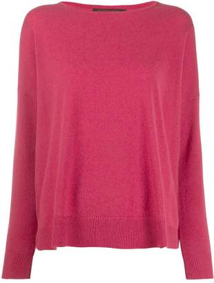 Incentive! Cashmere drop shoulder jumper
