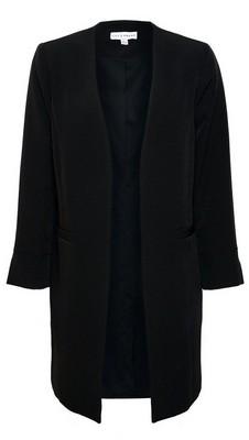 Dorothy Perkins Womens Lily & Franc Black Duster Coat, Black
