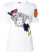 Versace Medusa head T-shirt - women - Cotton - 36