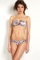 Mara Hoffman V-Wire Bikini in White Mosaic