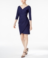 Alex Evenings Petite Scuba Sheath Dress