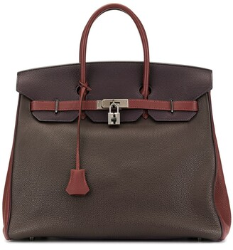 Hermes 2007 pre-owned Aucroix 36 tote