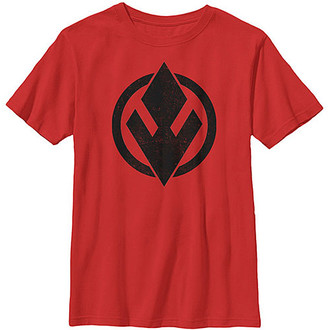 Fifth Sun Boys' Tee Shirts RED - Star Wars Red Sith Trooper Emblem Tee - Boys