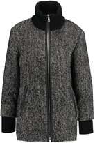 SET Classic coat black white