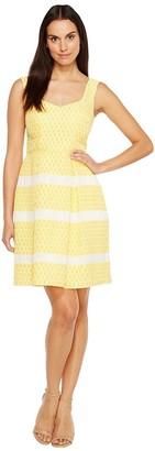 Adrianna Papell Women's Striped Summer Dres