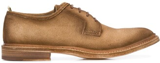 Officine Creative Fadded-Effect Low-Heel Derby Shoes