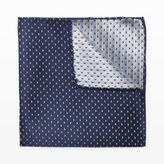 Club Monaco Contrast Dot Pocket Square