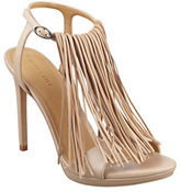KENDALL + KYLIE Aries Fringed Leather Sandals
