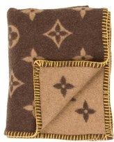 Louis Vuitton Monogram Throw Blanket