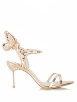 Sophia Webster Chiara Butterfly-wing embroidered sandals